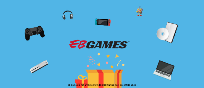 MARCH 2021 – WIN AN EB GAMES GIFT CARD