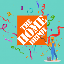July 2020 - Win a Home Depot Gift Card