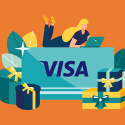 AUGUST 2020 – WIN A VISA GIFT CARD