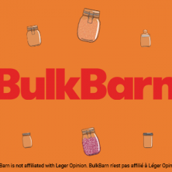 OCTOBER 2020 – WIN A BULK BARN GIFT CARD