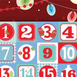FETES DECEMBRE- tirage de 48 cartes-cadeaux