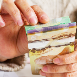 JANVIER- Chèque de 250$