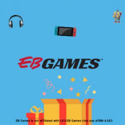 MARS 2021 – GAGNEZ UNE CARTE-CADEAU EB GAMES