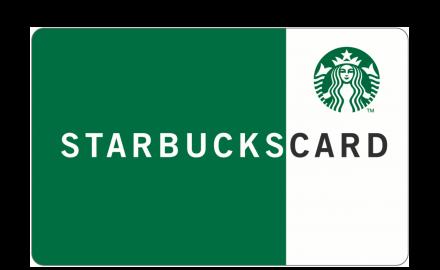 $20 Starbucks electronic gift card